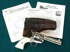 Jack Sully's Colt Quickdraw Model Single Action Army Revolver