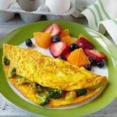Broccoli & Cheddar Omelet   Colorado Egg Producers