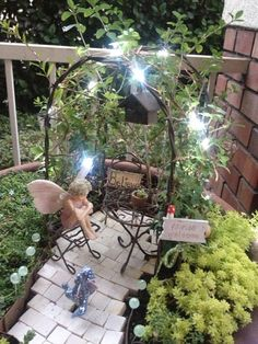 Miniature Fairy Garden LIGHTS can be used for garden or doll house