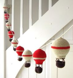 crochet baloons