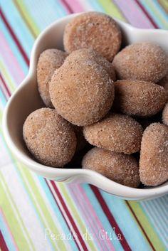 Fiz estes biscoitinhos da Glau  e depois de comer um fiquei totalmente apaixonada por eles! São super crocantes e o sabor de canela é bem ac...
