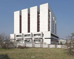 National Archives, Bratislava, Slovakia, 2015. © Nicolas Grospierre #socialist #brutalism #architecture