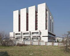 National Archives, Bratislava, Slovakia, 2015. © Nicolas Grospierre #socialist #brutalism #architecture