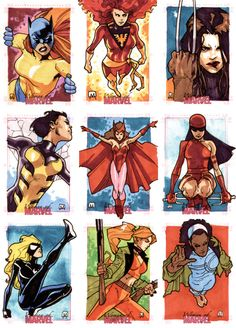I'm a DC guy, but I do love the Marvel ladies too.