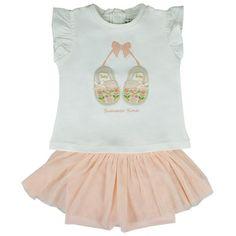 Honey & Clover Kidswear / Children's Apparel | Summer Time 2-Piece Set by Mayoral