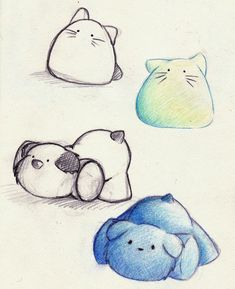 drawings of cute animals | Cute Stuffed Animal Design . by ~Yusura on deviantART