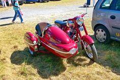 Jawa 250 / 559 Panelka + sidecar /Stara Voda/