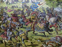 La Batalla de Morat ...  fue un enfrentamiento militar de las Guerras de Borgoña librado el 22 de junio de 1476 entre el Ducado de Borgoña y la Confederación Helvética en Murten. Resulto en una completa victoria de los suizos sobre los borgoñeses.
