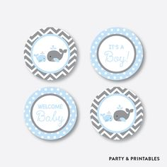 Blue Whale Cupcak... http://partyandprintables.com/products/blue-whale-cupcake-toppers-non-personalized-instant-download-sbs-51?utm_campaign=social_autopilot&utm_source=pin&utm_medium=pin #partyprintables #birthdayinvitation #partysupplies #partydecor #kidsbirthday #babyshower