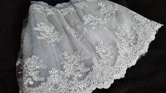 Spódniczka tiulowa z koronki - MatMari - Eleganckie spódnice