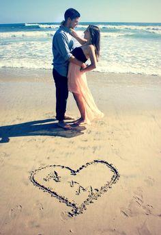 Huntington Beach couples photo shoot