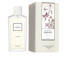 Instituto Español Marc Misaki Woman White Flowers Eau De Toilette Vaporisateur 150ml