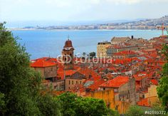 City of NICE  Vieille ville FRANCE