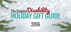 As someone who started out by offering services and piecing together various jobs until finding a full career, I've long admired the entrepreneurial spirit. So, in 2014, I put together a holiday gift guide to celebratethe creative talents and business triumphs of disabled entrepreneurs. It has since become an annual tradition, and I'm really excitedto …