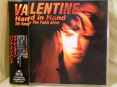 CD/Japan- ROBBY VALENTINE Hand In Hand 4trx EP w/OBI RARE 1995 OOP incl.4 LIVE #PopRock