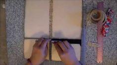 Justafew - EZ tutorial -  Manila Folder Mini Album 1