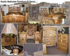 The Rustic Cowboy - Rustic Furniture & Western Home Decor  I want to explore what they have!