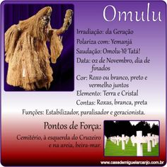 Omulu – Orixá da Estabilização – Casa de Miguel