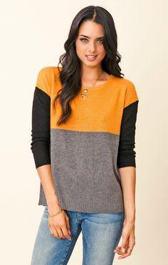 Joie Astaine Color Block Sweater Prendas De Punto 149cf93c6012