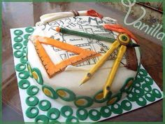 Birthday cake of a civil engineer :)