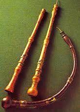 Oboe, oboe d'amore and oboe da caccia. Nuremberg, Germanisches Nationalmuseum.