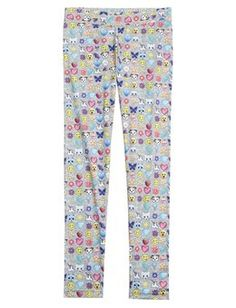 Maybe not these exact ones, but - Printed Emoji Leggings