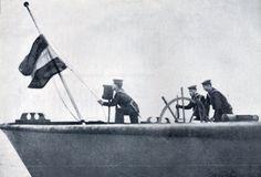 Arrear da bandeira alemã Joshua Benoliel/Arquivo Municipal de Lisboa.