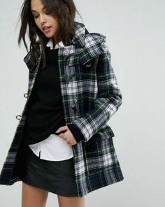 6898fd925d2d Farbig, Damen Mode, Günstige Mode, Damen Bekleidung, Jacken, Parka Mantel,