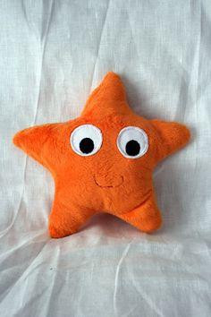 """Tapis à histoire """"Petit poisson blanc"""" doudou étoile de mer à partir de mes tutoriels"""
