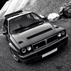 Lancia Delta HF Integrale. Even after all this time, it is beautiful.