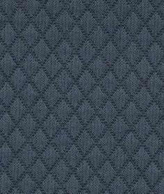 Robert Allen Contract Walking Maze Sapphire Fabric | OnlineFabricStore.net