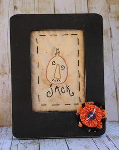 Jack Pumpkin Stitchery