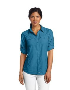 52825cc5130 Amazon.com   Columbia Women s Bug Shield Long Sleeve Shirt   Hiking Shirts    Sports