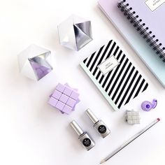 Be smart. Be charming. Be kind. Be stylish. Be silly. Be fabulous!! #toystyle #stationery #backtoschool #notebooks #petitjournal #sketchbook #diamond #silver #nailpolish