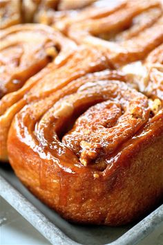 Rosebud's Sticky Buns | The Curvy Carrot Rosebud's Sticky Buns | Healthy and Indulgent Meals Dangling in Front of You