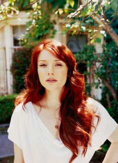 The Perfect redhair colour I have ever seen.