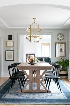 This modern farmhouse dining room by Studio McGee gets recreated for less by copycatchic luxe living for less budget home decor and design room redos