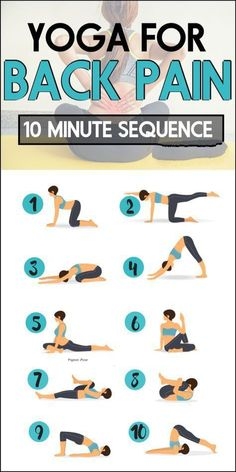 10 minute beginner yoga routine to relieve back pain – # For beginners … – Yoga & Fitness Bikram Yoga, Ashtanga Yoga, Upper Back Pain, Yoga For Back Pain, Relieve Back Pain, Back Pain Exercises, Yoga Exercises, Yoga Workouts, Butt Workout