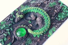 PREVIEW: Polymer Clay Artwork & Journal Covers by Velvetorium | Gothic &...
