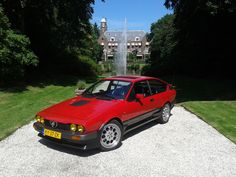 Alfa Gtv, Alfa Alfa, Alfa Romeo Gtv6, Auto Design, Luxury Cars, Dream Cars, Classic Cars, Vehicles, Vintage