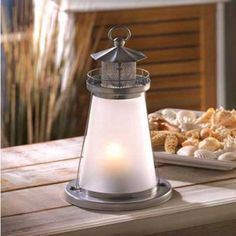 "Beacon of Light lantern, daily deal of the day, $11.99, 5"" in diameter by 10"" high, brendaalix.athome.com"