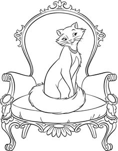 Currently I Suggest Aristocats Coloring Pages Printable For You This Article Is Similar With Free Cat Page