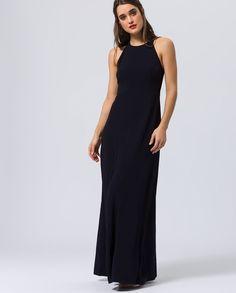 4afb9f497dec Neckholder Evening Dress - Midnight Blue. Blue IvyBlu NotteAbiti ...