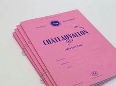 Les cahiers de l'été 2016 pour une fin de saison studieuse à Châteauvallon  — Atelier Lindsay