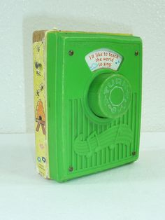 Vintage Fisher Price 1964 Pocket Radio by reAwesome