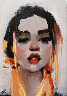 Curly Tale Fine Art Kunst Inspo, Art Inspo, Pretty Art, Cute Art, Art Sketches, Art Drawings, Art And Illustration, Portrait Art, Portraits