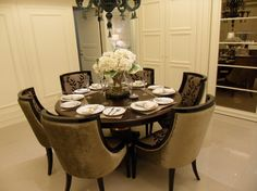 Round Dining Room Table Design Ideas Pictures Remodel And Decor Page 11
