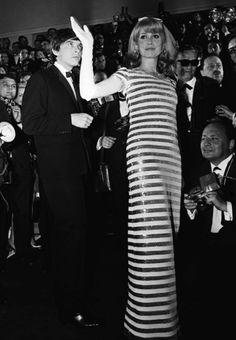 La bellezza e la classe di Catherine Deneuve & David Bailey, Festival di Cannes, 1966