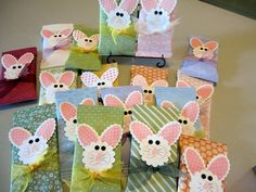 >Stampin' UP! Easter Treat Bunnies « Stampin' Gina | Martinez, CA
