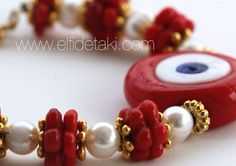 Nazar bileklik.., Evil eye bracelet... www.elfidetaki.com